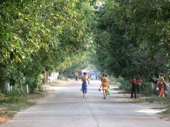 Улицы с отдыхающими