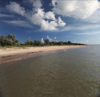 Пляжы за поселком