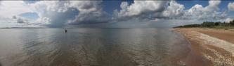 Пляжи за поселком