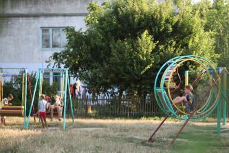 Площадка на улице Приморская